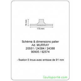 PALIER Ad. MURRAY 24384