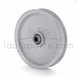 Poulie tendeur à gorge plate en acier Øint 9,5 mm - Øext 114 mm - Larg 2 mm Ad. AYP - Husqvarna