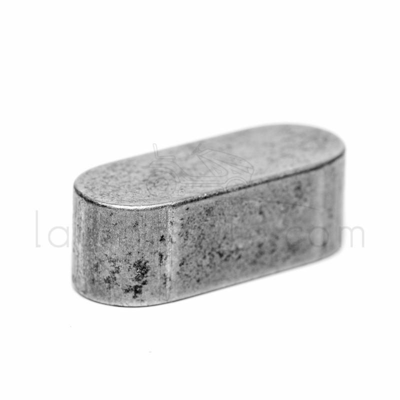 CLAVETTE OVALE POUR PALIER AL-KO / Brill Long 20 mm - larg 8 mm - Haut 7 mm