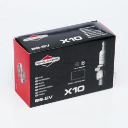 Boîte 10 bougies culot court origine BRIGGS & STRATTON 992300 modèles HP