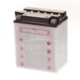 BATTERIE 12N14 3A - borne + à droite - 12 volts -14 ampères
