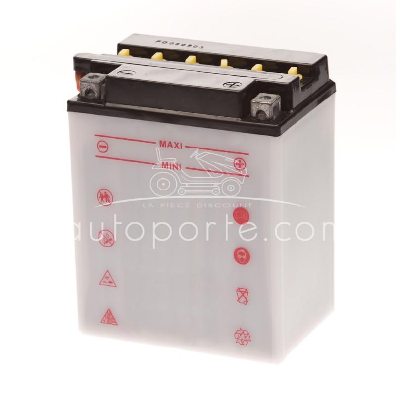 batterie 12n14 3a borne droite 12 volts 14 amp res. Black Bedroom Furniture Sets. Home Design Ideas