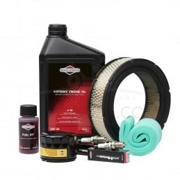 PACK avec Filtre à huile POUR MOTEURS BICYLINDRES 14-16-18-20-22 cv depuis 1990 ORIGINE BRIGGS & STRATTON