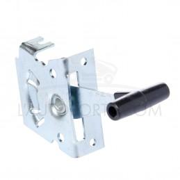 Manette d'accélération métallique pour cable rigide