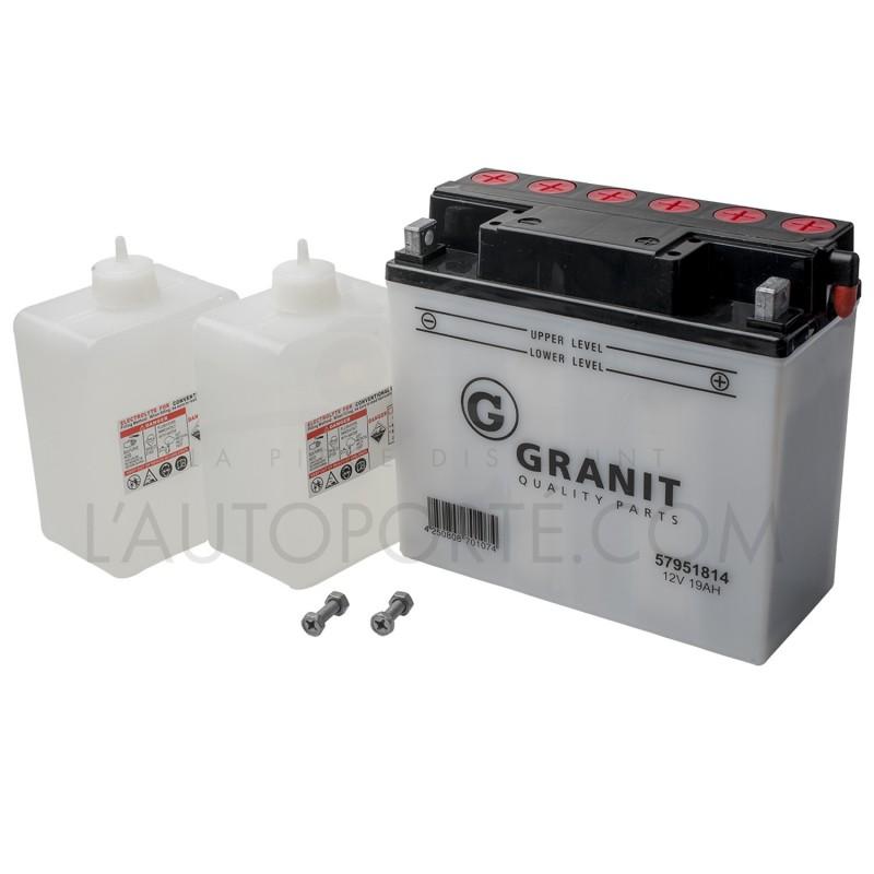 BATTERIE 12N18 3A - borne + à droite - 12 volts - 18 ampères