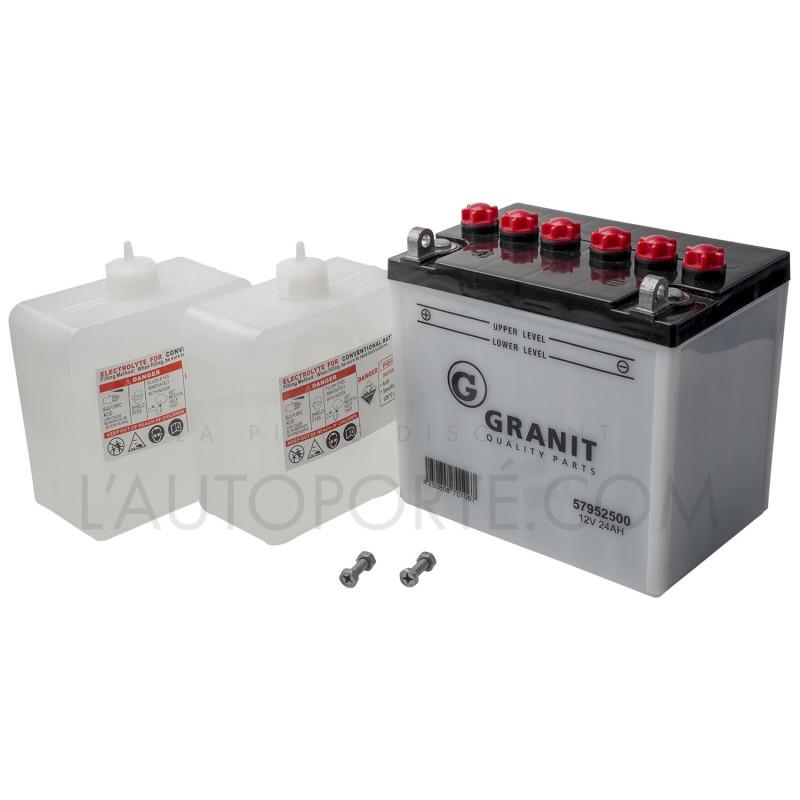 BATTERIE U1L9 - borne + à gauche - 12 volts - 28 ampères