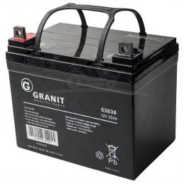 BATTERIE GEL NH1222L - borne + à gauche - 12 volts - 22 ampères