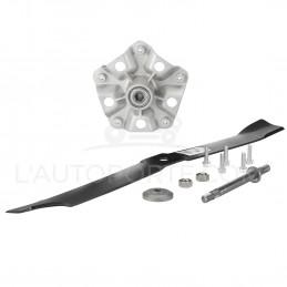 PACK PALIER AXE 200 mm + LAME 76 cm + AXE 200 mm ADAPTABLE MURRAY