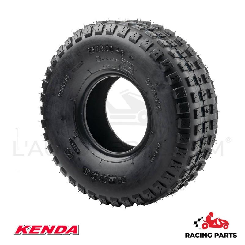 PNEU AVANT K383 KENDA RACING 15X600-6 TRACTEUR TONDEUSE