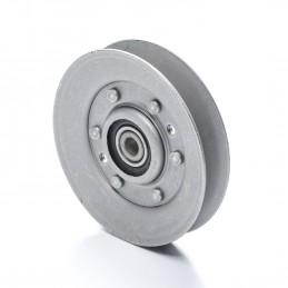 POULIE DE GUIDAGE Ø int 9.5 mm Ø ext 102 mm Larg 22 mm