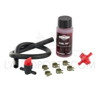 Pack essence B&S : filtre / robinet / durite / colliers / additif