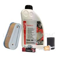 Pack révision moteur Tecumseh ; huile, filtres + bougie