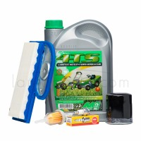 Pack révision moteur kawasaki : huile, filtre, bougie