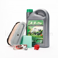 Pack révision moteur huile filtre bougie tracteur tondeuse autoportée