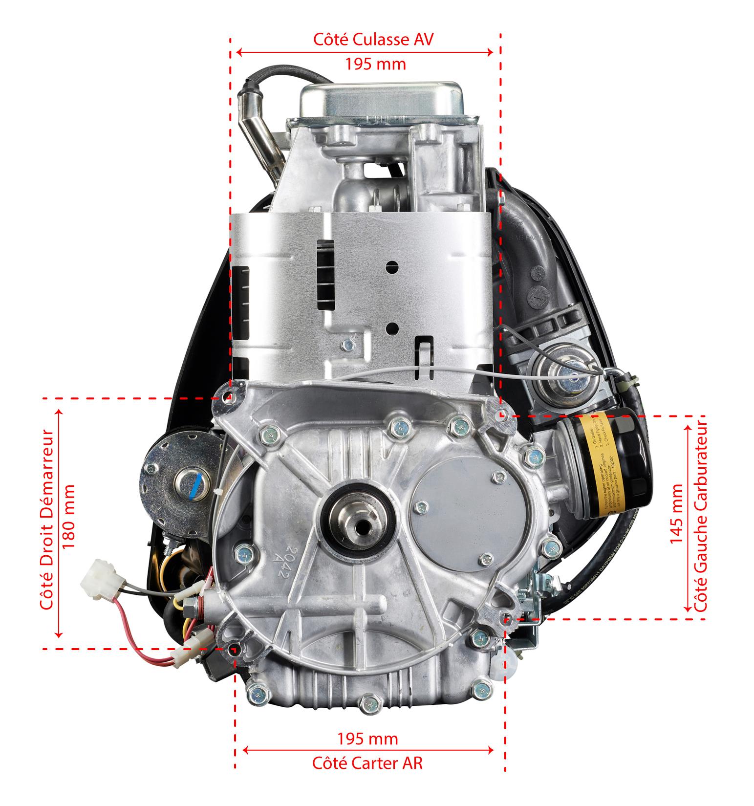 Entraxes fixations moteur