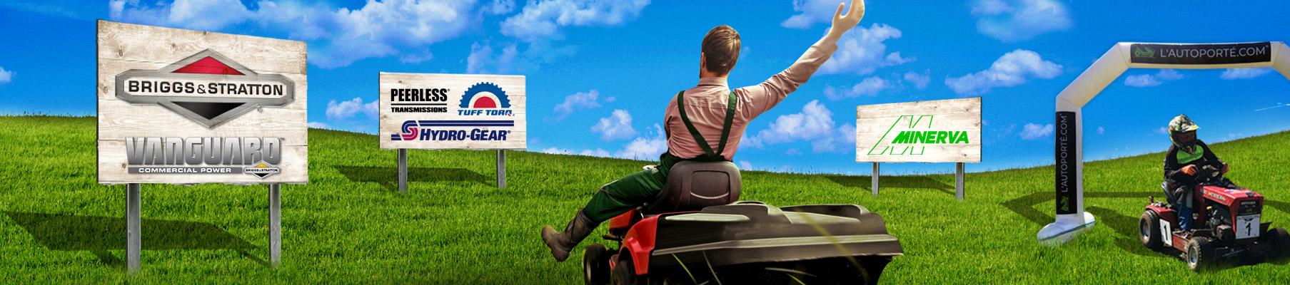 Moteurs & Pièces de Tracteurs Tondeuses Autoportées - Origine Briggs & Stratton - Vanguard - L'autoporté.com
